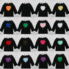 Baby girls long sleeve T-shirt Children plain cotton tops