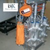 Tower system with aluminum tower truss and hoist