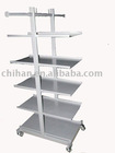 Can Mobile 5 Layers Supermarket Shelving