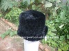 Hand Made Mink Knitted Hat