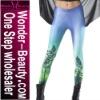 Aurora green galaxy series women leggings