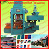 Automation color cement roof tile machine