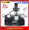 LY new model LY 5860 BGA rework Station, touch screen with three temperature zones
