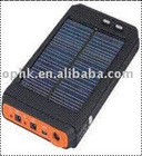 12000mAH enough efficient monocrystalline solar panels