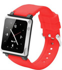for iPod nano 6th generation wrist watch red