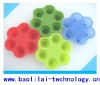 Free Sample Hot Selling Fruit Silicone Ice Cream Tubs