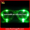 Halloween pumpkin flashing sunglasses