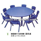 kindergarten plastic tables and chairs Learning table round table children's desk MQM11259B