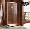 Double panel sliding door Shower Screen,customizable