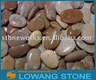 multicolour river pebble wash stone