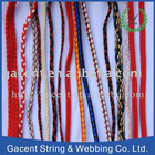 cotton braided rope and cord woven band fashion belt