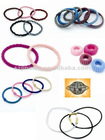colorful elastic hair bands