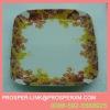 wholesale ceramic flower plate & dish square
