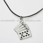 Necklace (Royal Flush Poker Card)