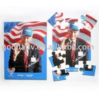 Made in China OEM Children educational promotion paper puzzle
