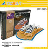 2012 latest 58pcs model The Sydeny Opera House 3d puzzle educational toys for adult child--OC0139913
