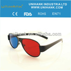 Hot selling high quanlity plastic frame 3d video glasses for game,home theater,computer,movie