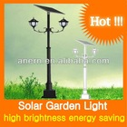 2*15W LED Lamp 100W Solar Panel Output Solar Lights For Garden