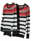 GUANGZHOU garment factory Casual stripe couple sweater