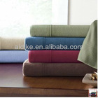 North America style fleece sheet set