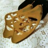 2012 Fashion Gold Crystal Earring (MER014)