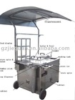 stainless steel Multi-function snack cart(SK-500)