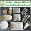 Biodegradable tableware/ Bamboo tableware