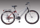 "E-bicycles with 26"" alloy frame EN15194 approval"