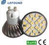 GU10 LED Spot Light Aluminium Cup 24 SMD 5050