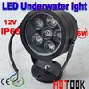 6W LED Waterproof Underwater Flood Light Aquarium Floodlight 12V