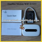 Unlocked White Huawei Portable Wifi Router E5331