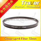 Close-up+4 Filter for Camera lens 77mm close-up filter 77mm