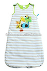 100%cotton baby sleeping bag with good quality