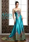 Afers 2012 NO.FJ378-1 Chinoiserie embroidered A-line party dress