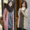 Lady Casual Long Patern Cardigan Sweaters