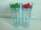 420ml Double walls plastice acrylic tumbler mug
