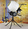 Electric portable beton mixer with stand and steel drum