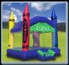 Crayon Jumper,Inflatable Bouncer Castle B1140