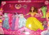 fashion silicone doll clothes set