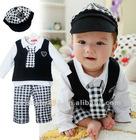 Children clothing for kid/longsleeve romper for boy