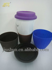 Silica gel Cup cover used for ceramic cup or glass cup