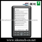 ebook reader ,5inch LCD e-book reader