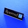 Acrylic name card holder /Nameplate