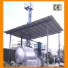 NEW design! waste oil recycling plant with CE