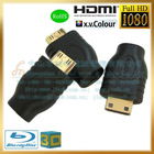 hdmi d micro female to hdmi c mini male adapter