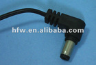 Dc right angle cable