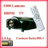 2012 CE Approved LCD Projector 1500 Lumens 1080P