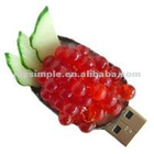 Caviar shape promotional USB flash drive best gift