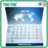320x170mm 12sheets colored desk calendar 2013 and 2014 or any size