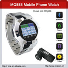 MQ866 Quad Band Single Card Bluetooth Camera Touch Screen Watch China Phone